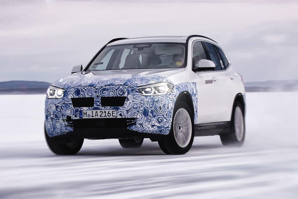 iX3 vai ter pequenas mudanças em relação ao SUV à combustão vendido atualmente