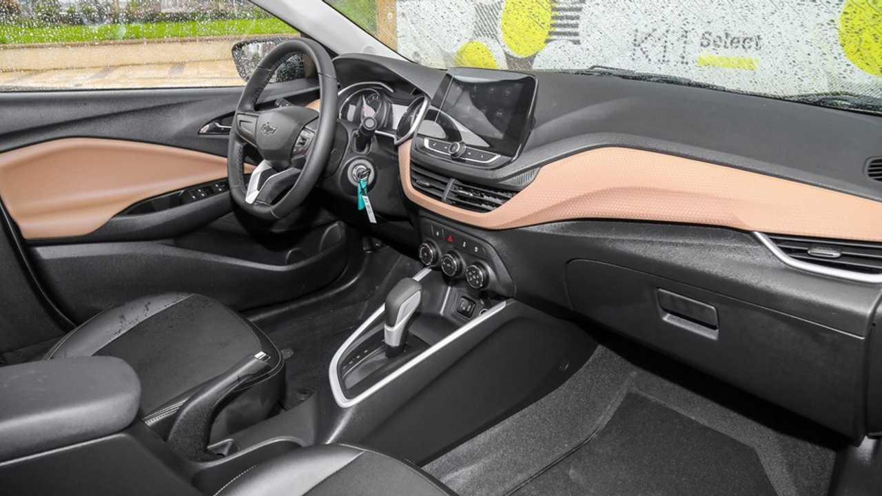Interior do novo Chevrolet Prisma 2020