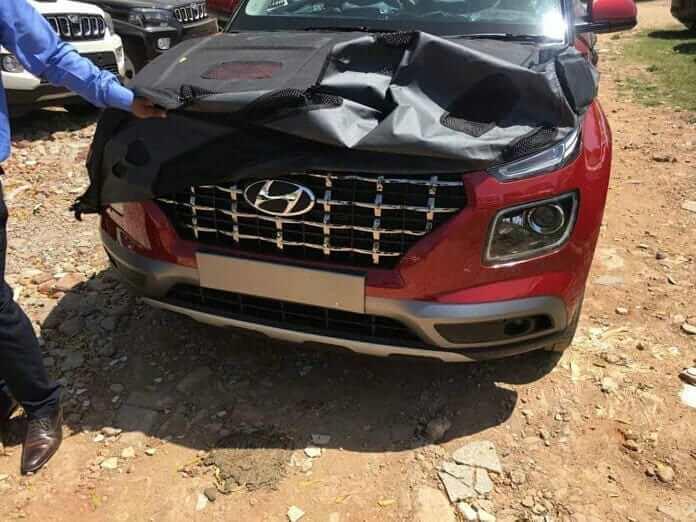 Hyundai Venue Front Fascia Leaked Image F4a5