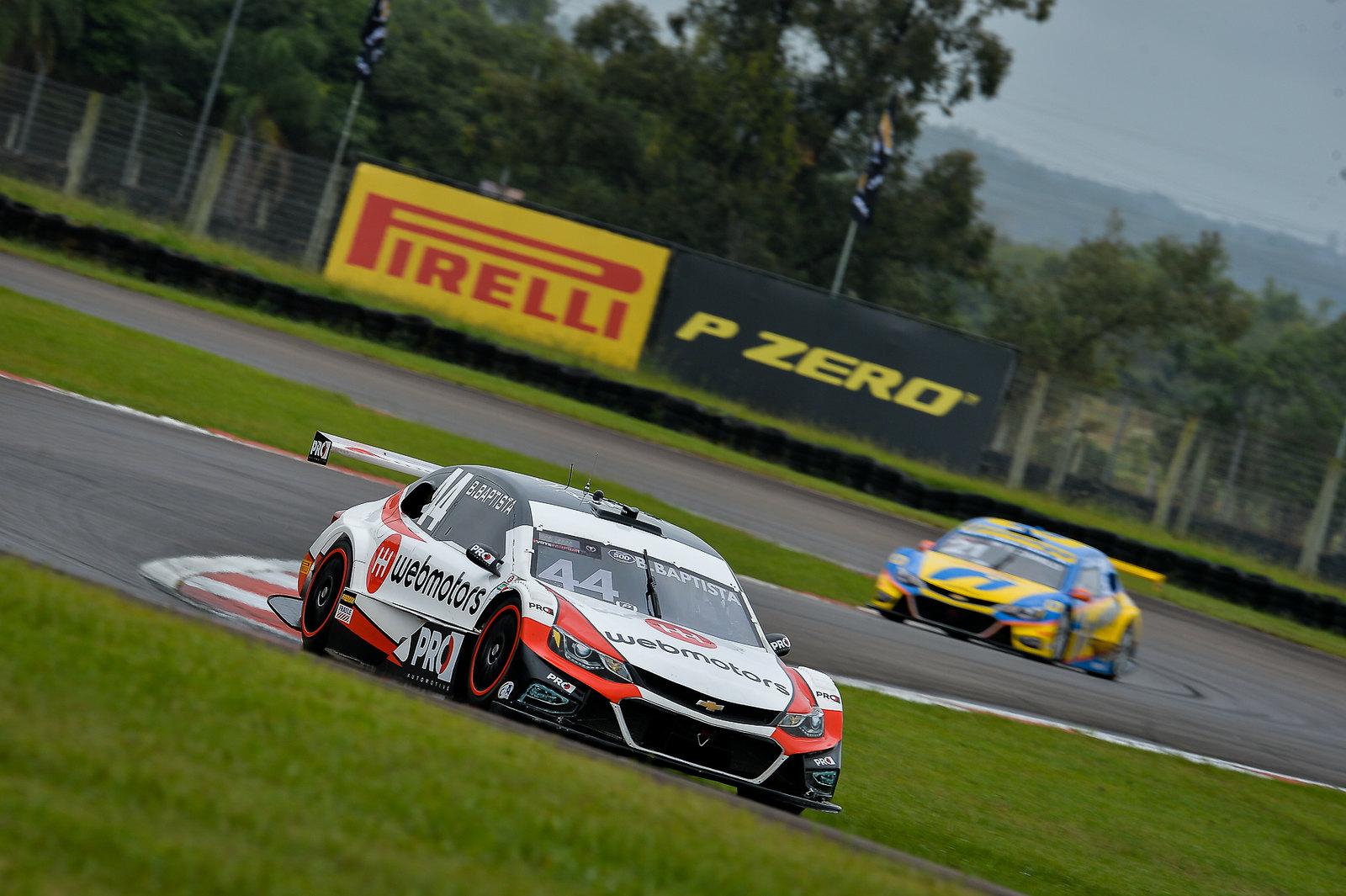 Bruno Baptista, da Webmotors Racing, somou os primeiros pontos no campeonato