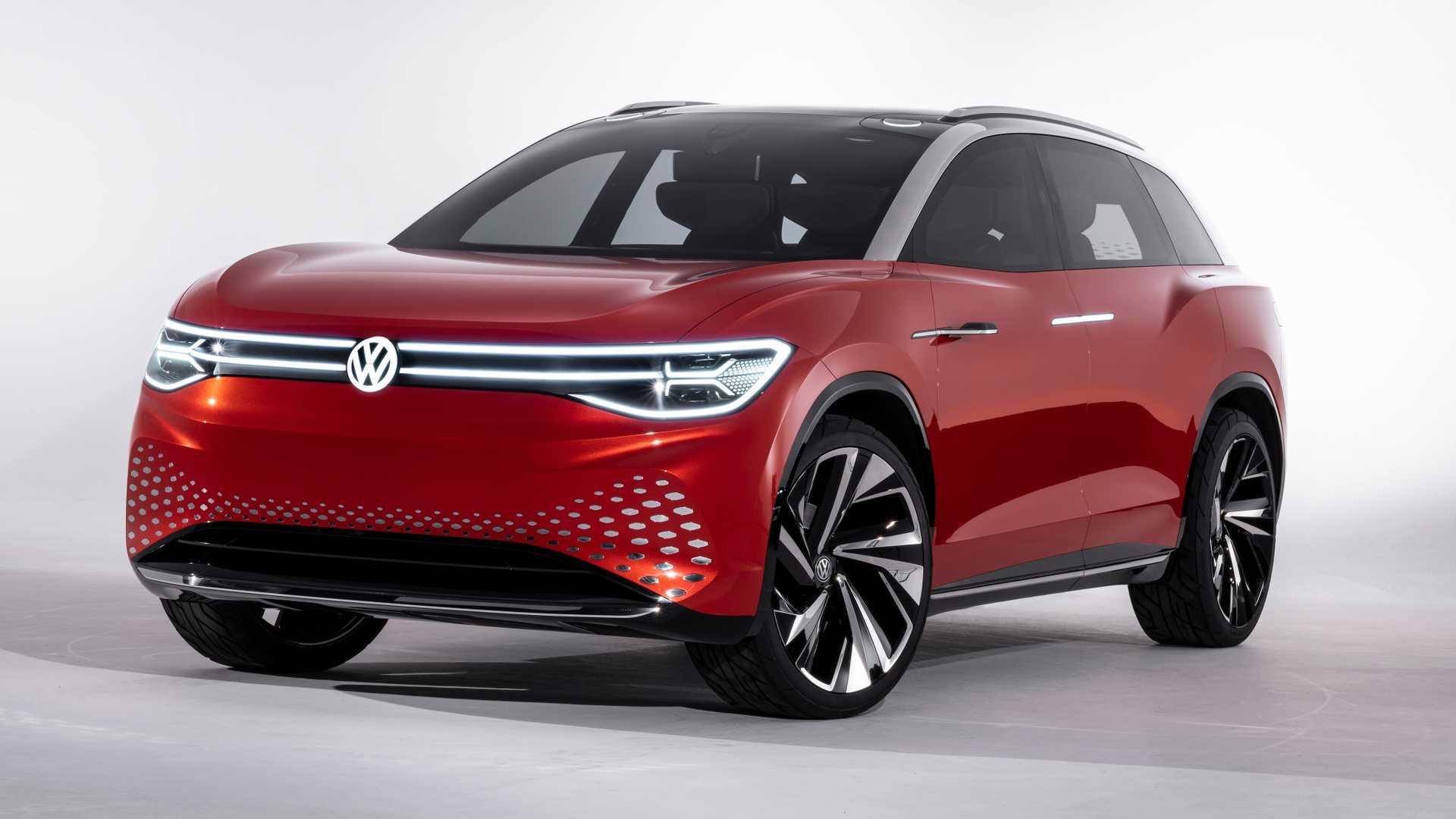 2021 Volkswagen I D Roomzz 2
