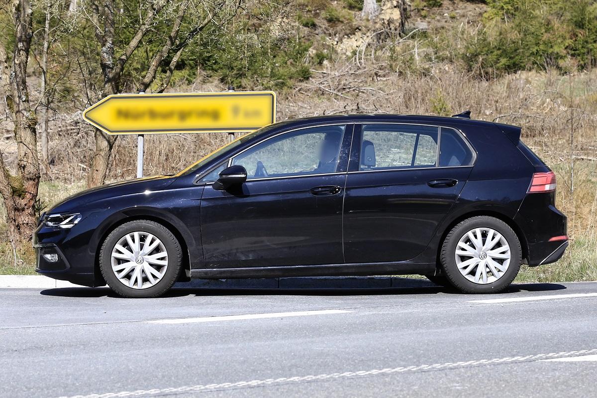 Segredo: Novo Volkswagen Golf