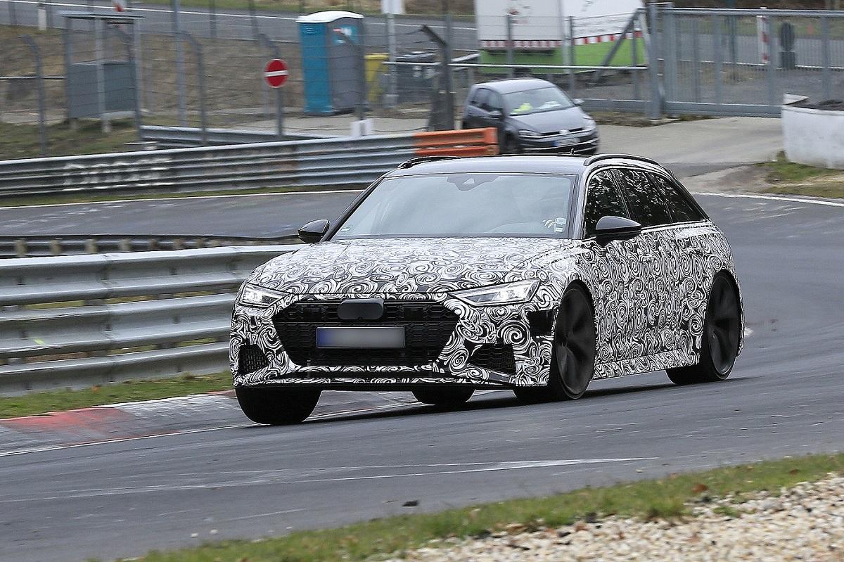 Segredo: Audi RS6 Avant