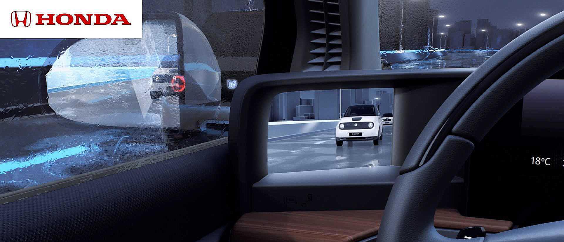Honda E Side Camera Mirror System 11