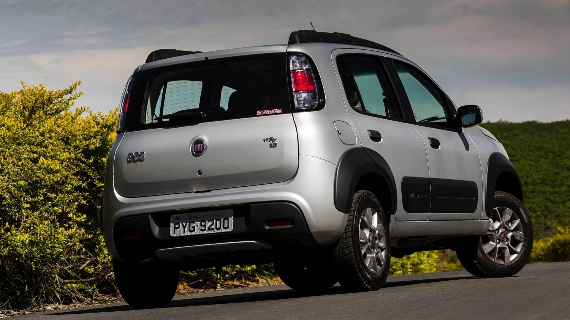 Fiat Uno Way volta ao catálogo