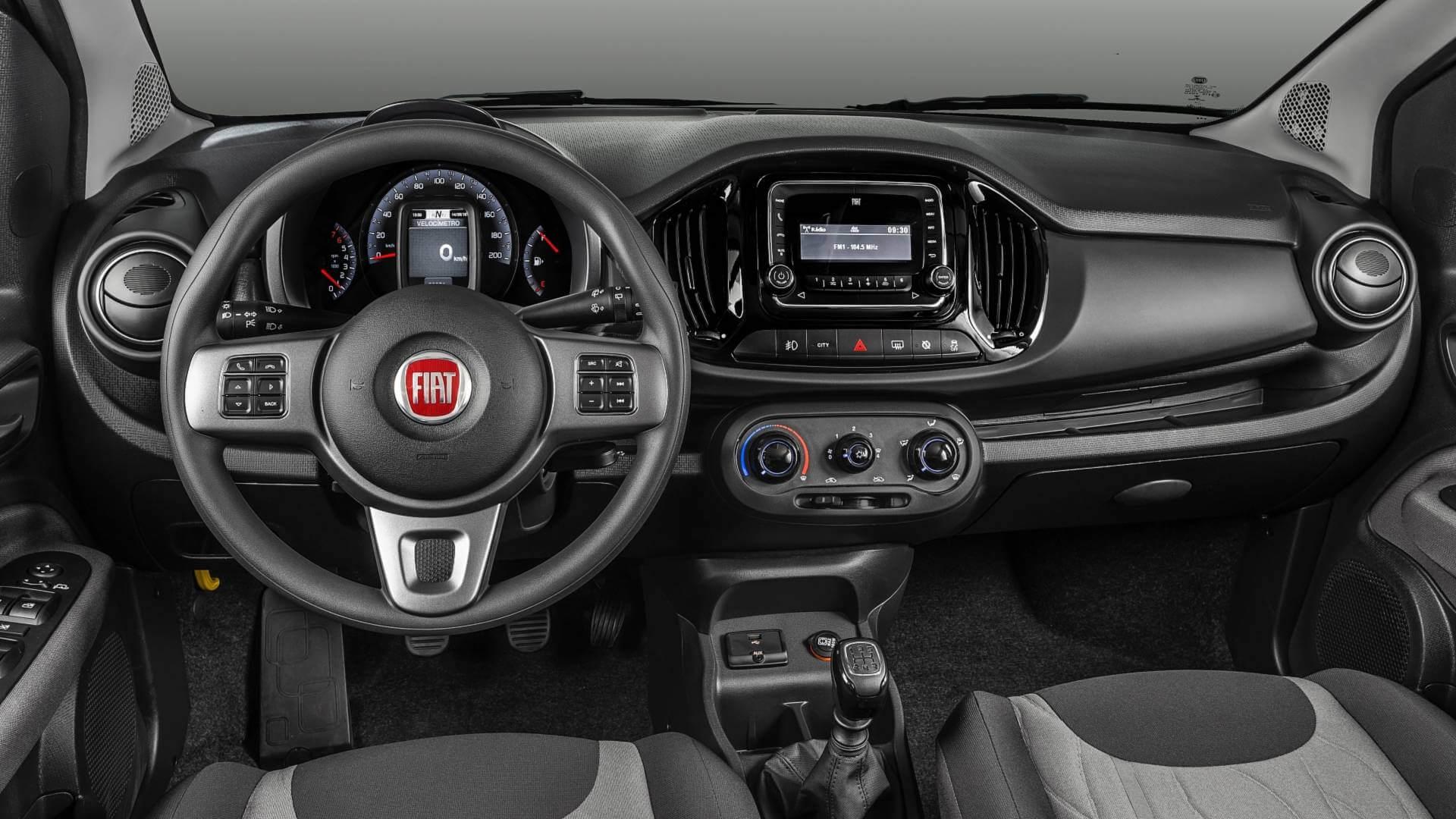 Fiat Uno Way - Rádio é opcional