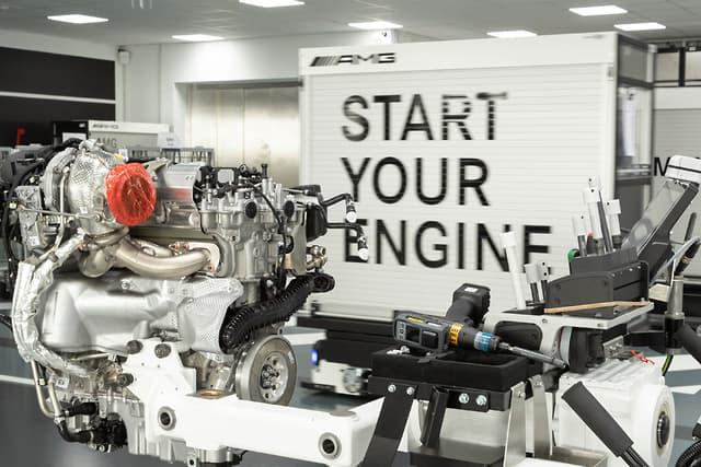 Motor 2.0 da Mercedes-AMG, considerado o mais potente do mundo