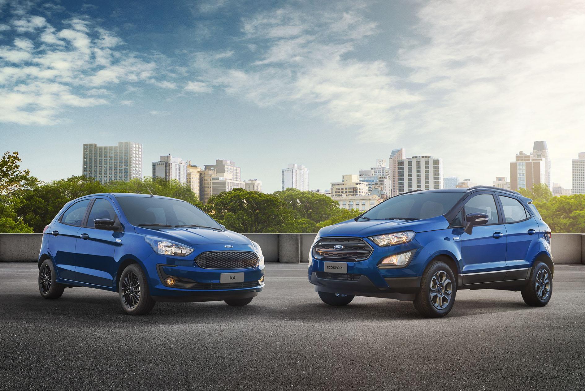 Ford Ka e EcoSport 100 Anos