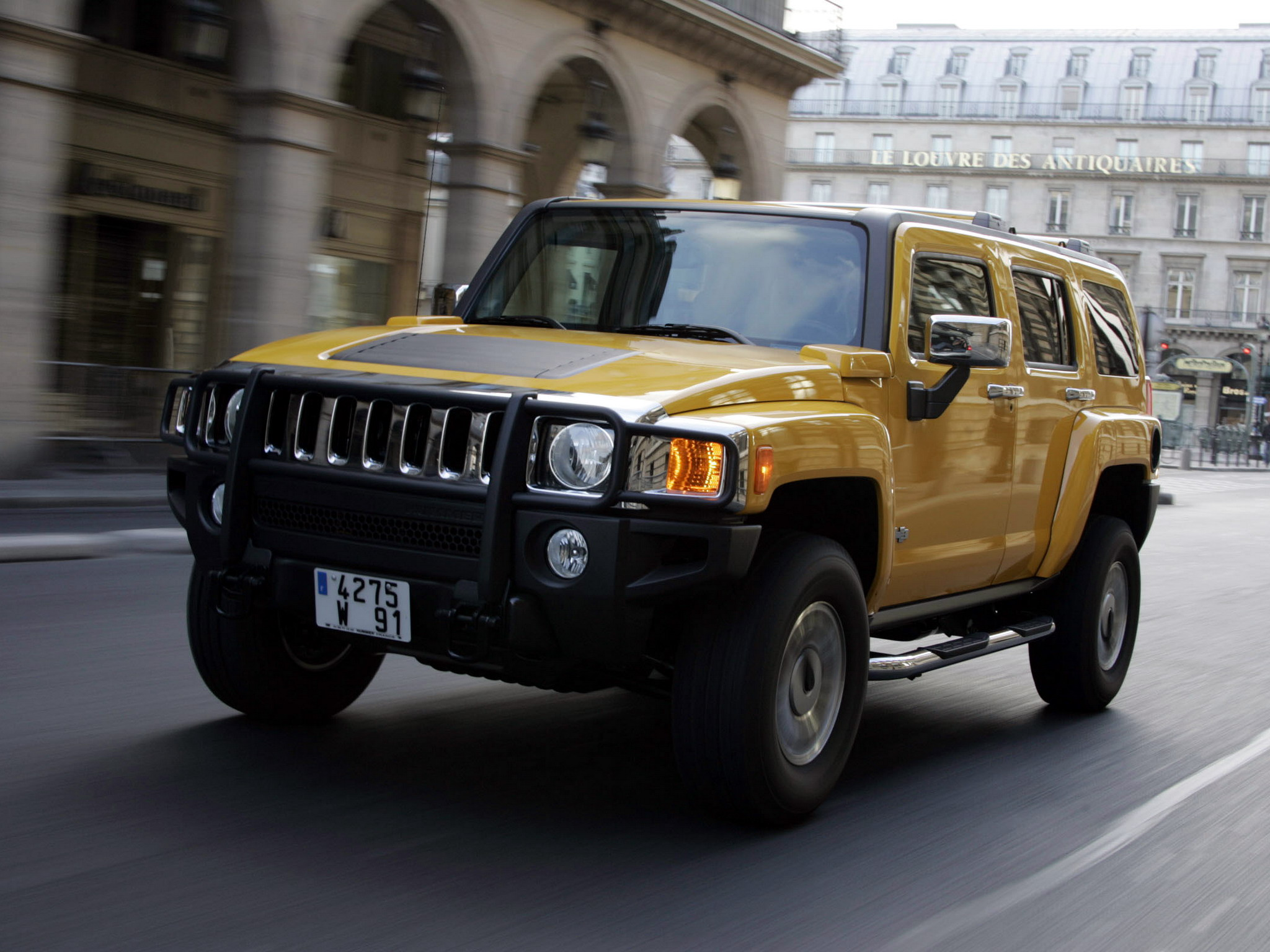 2006 Hummer H3 In Europe