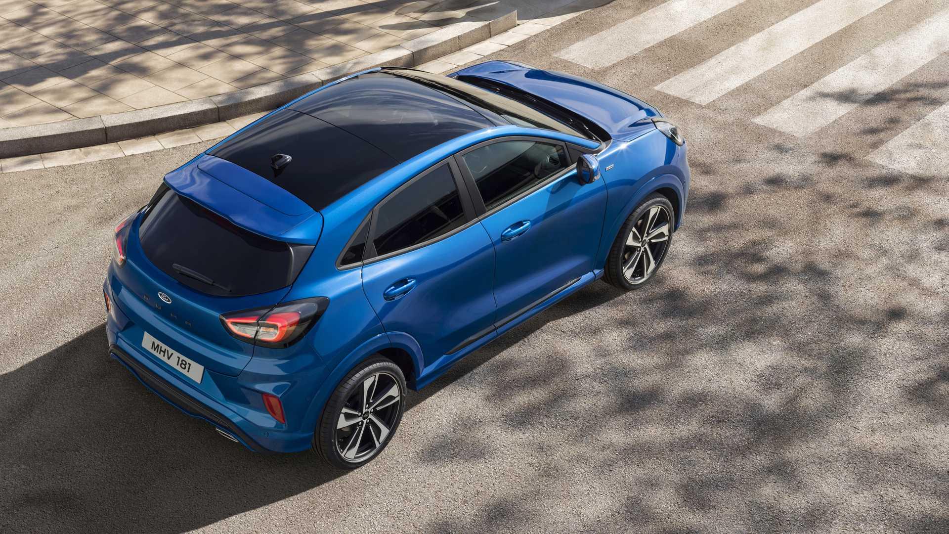 Ford Puma será vendido em 2020 na Europa