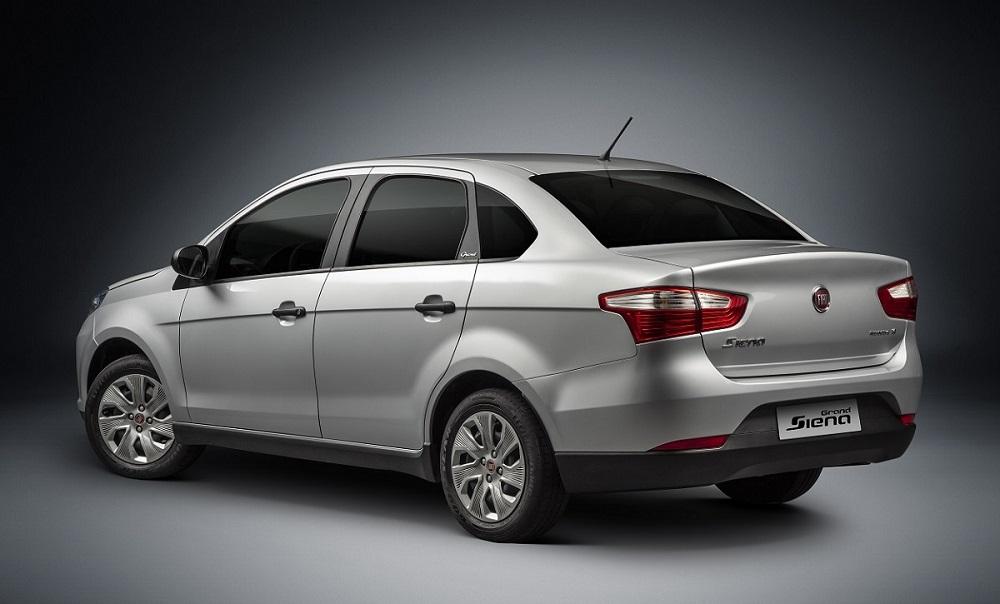 Fiat Siena GNV não traz diferenças estéticas