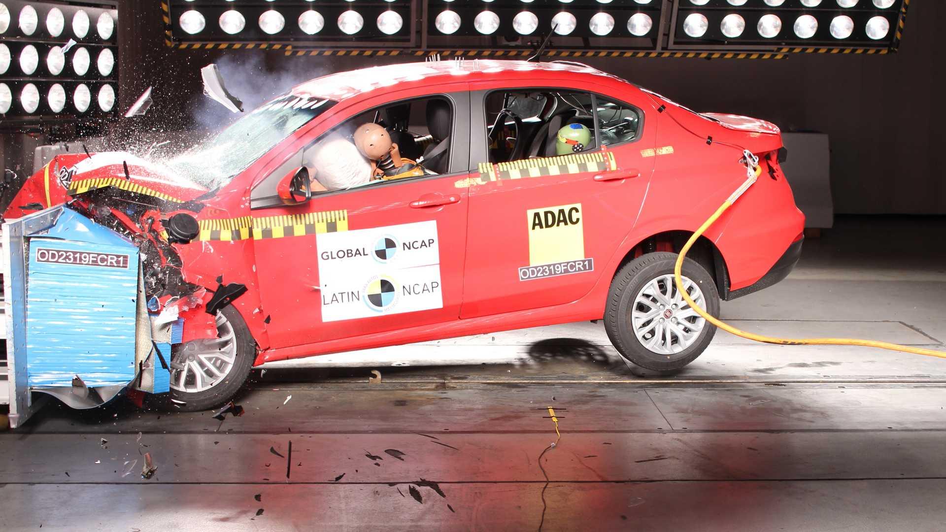 Fiat Cronos não teve um bom desempenho