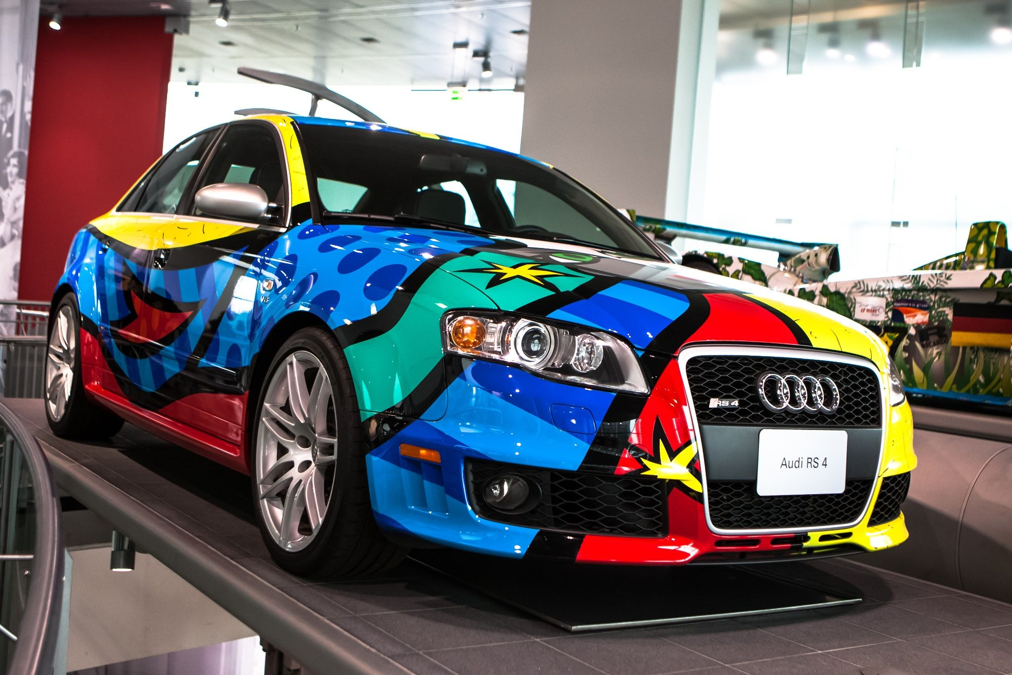 Audi RS 4 Romero Britto