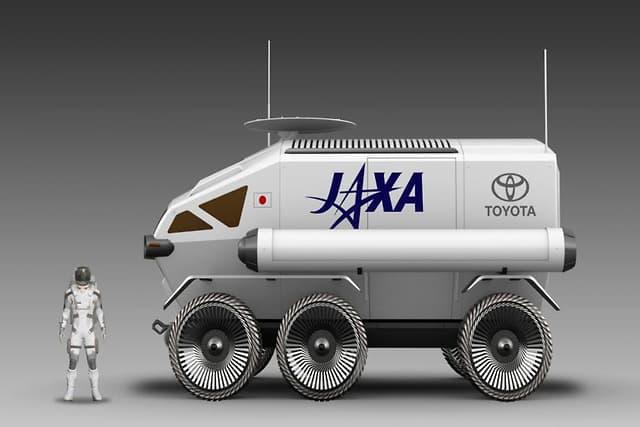 Rover lunar da Toyota terá paineis solares para gerar energia e motor movido a célula de hidrogênio (Foto: Divulgação)
