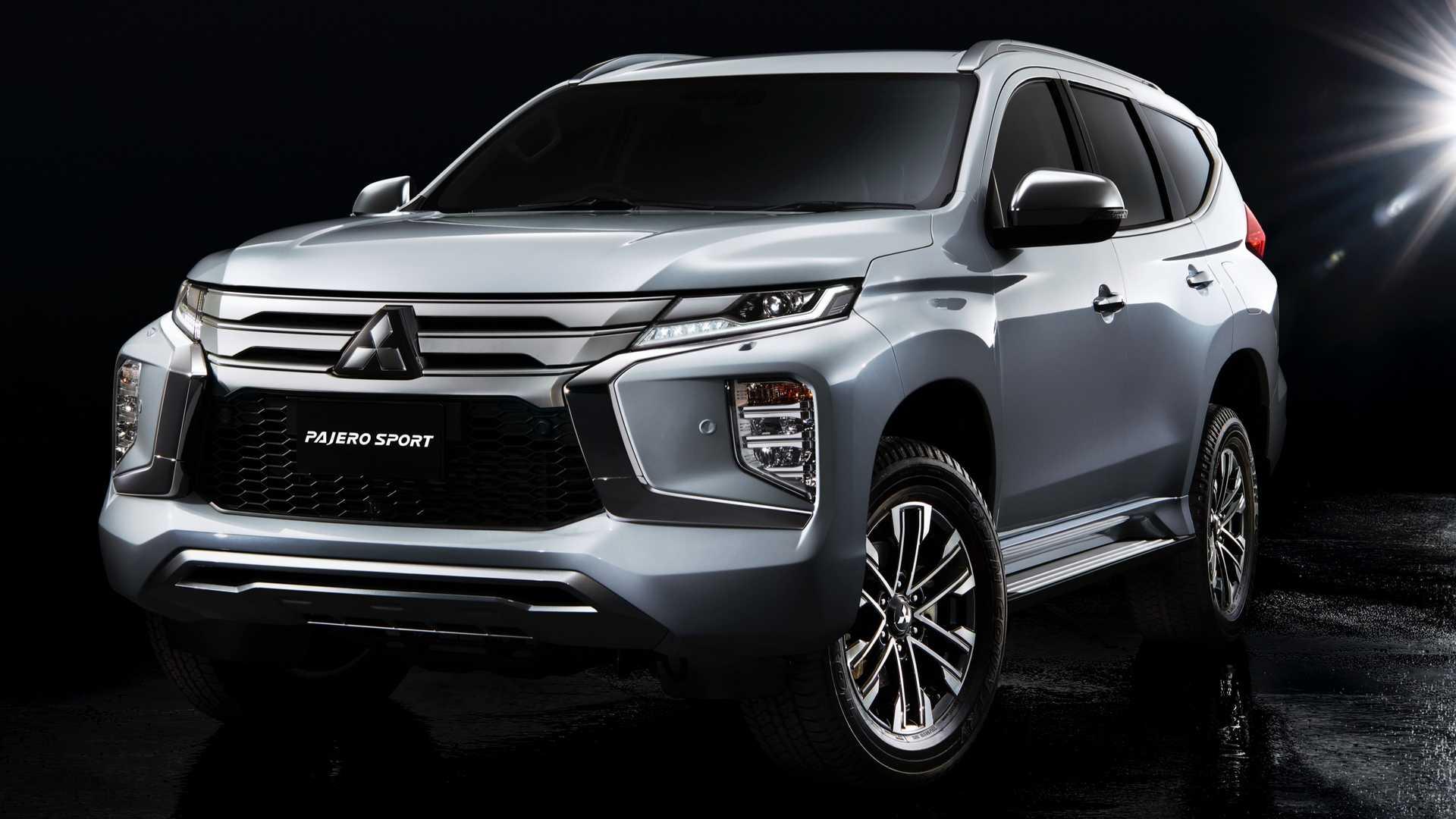 Mitsubishi Pajero Sport ganhou seu primeiro facelift na linha 2020 asiática