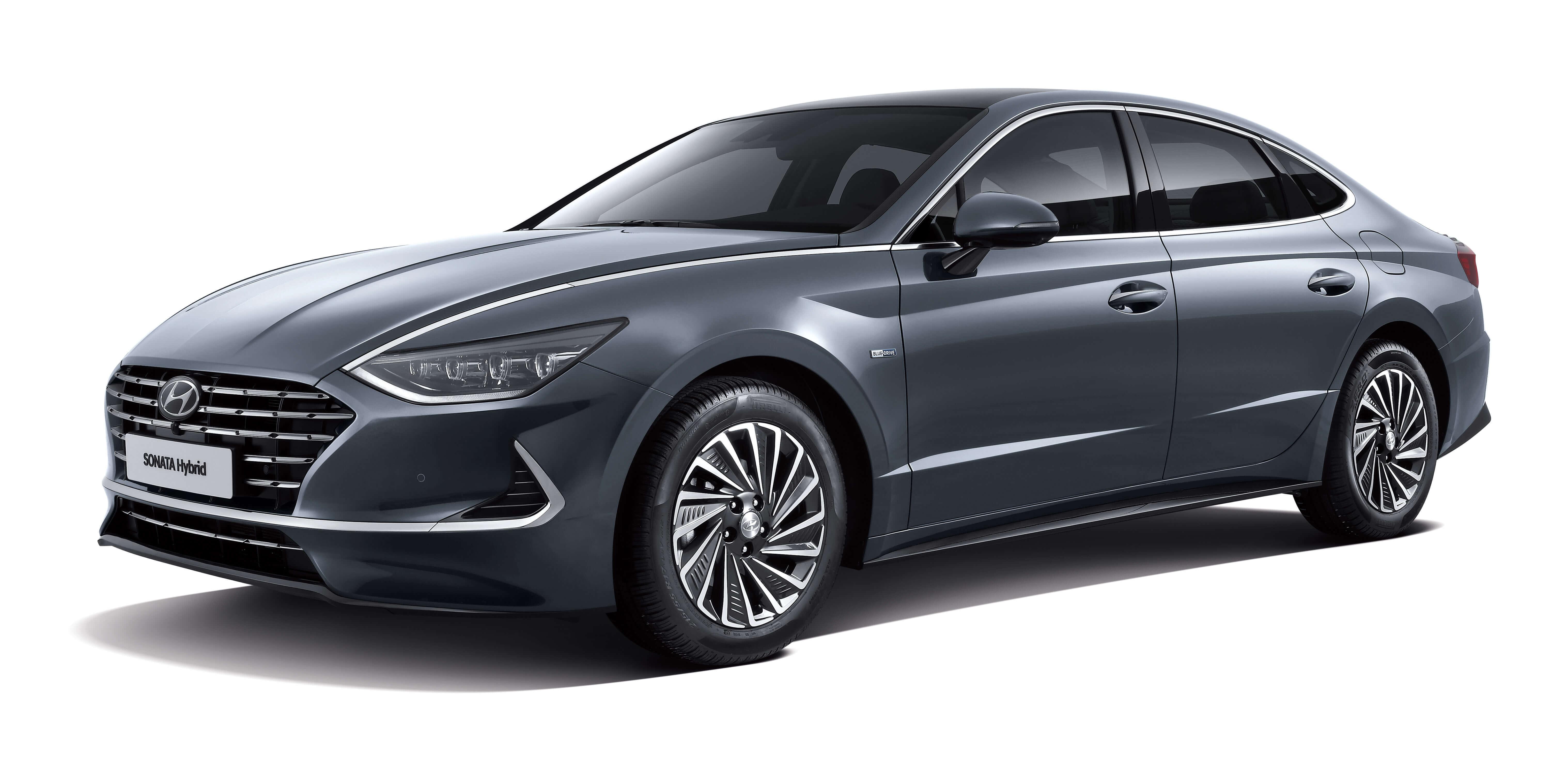 O Sonata Hybrid pode ter autonomia extra de mais de 1.300 km com a tecnologia, segundo a Hyundai