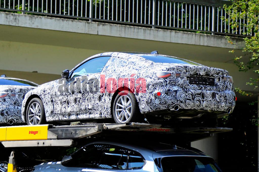 BMW Série 4 camuflado é flagrado na Alemanha