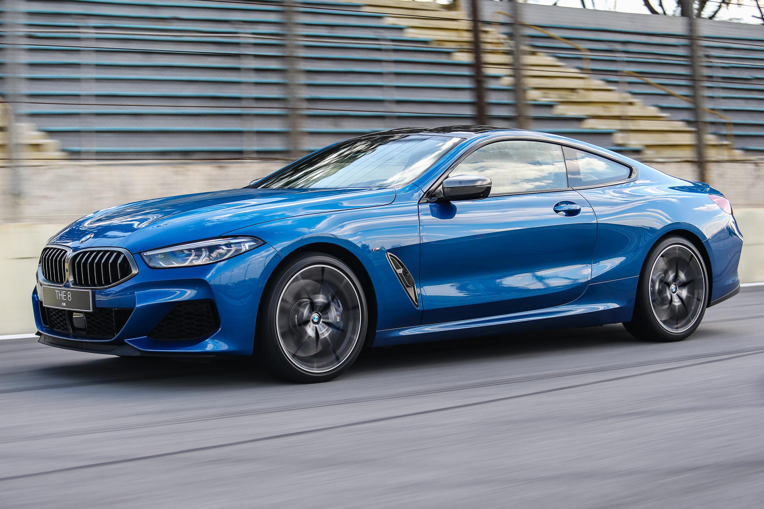 BMW M850i xDrive acelera de 0 a100 km/h em 3,7 segundos