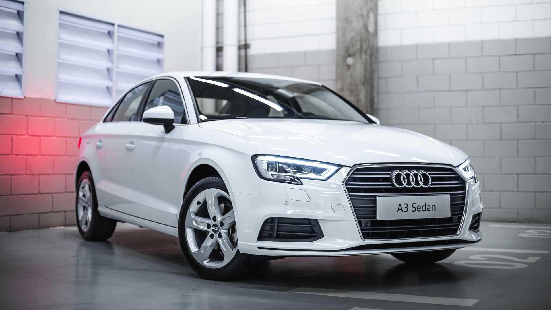 Mais em conta da marca das argolas por aqui,Audi A3 Sedan Prestige usa conjunto conhecido na irmã Volkswagen
