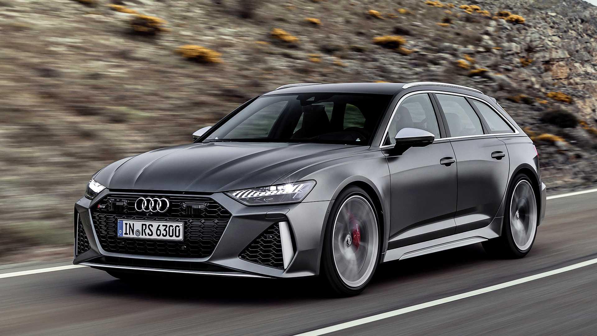 Audi RS6 Avant ganha nova geração