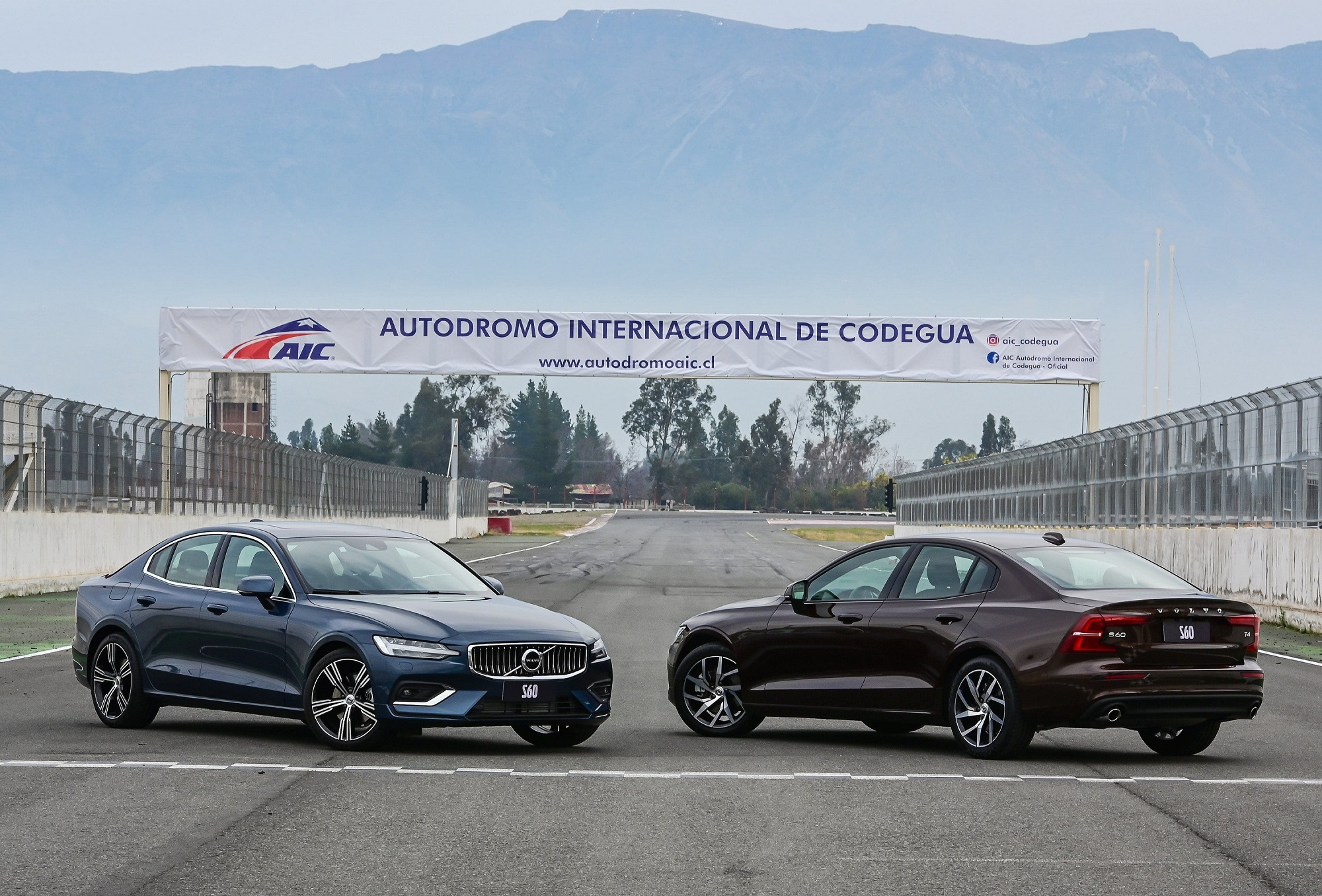 S60 no Autódromo de Codegua, no Chile