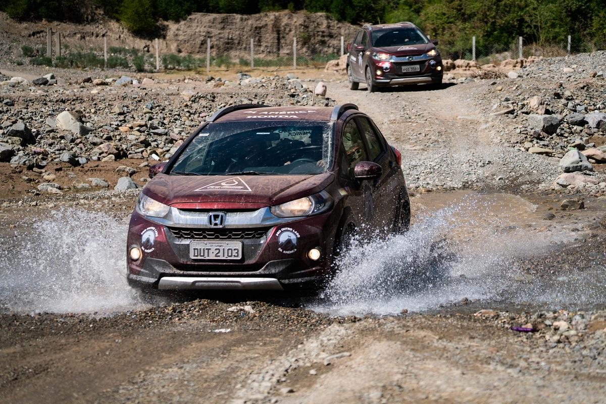 O óleo Pro Honda ajudou os veículos da Honda cruzarem o continente sul-americano de ponta a ponta