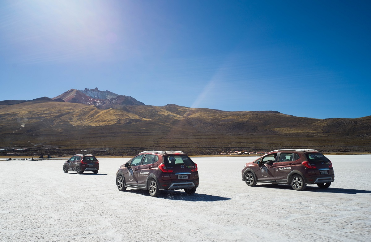 O óleo Pro Honda garantiu a performance do <strong>SUV WR-V</strong> e da motocicleta <strong>X-ADV </strong>a percorrer mais de 7.500 quilômetros