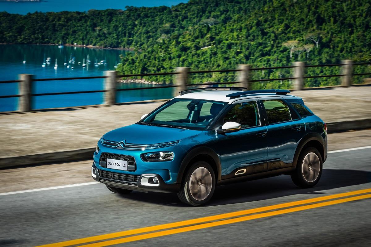 Novo SUV Citroën C4 Cactus utiliza motor THP 1.6 Flex de até 173 cv de potência máxima