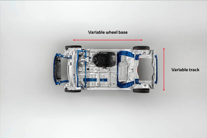 Nova plataforma modular da Toyota para compactos