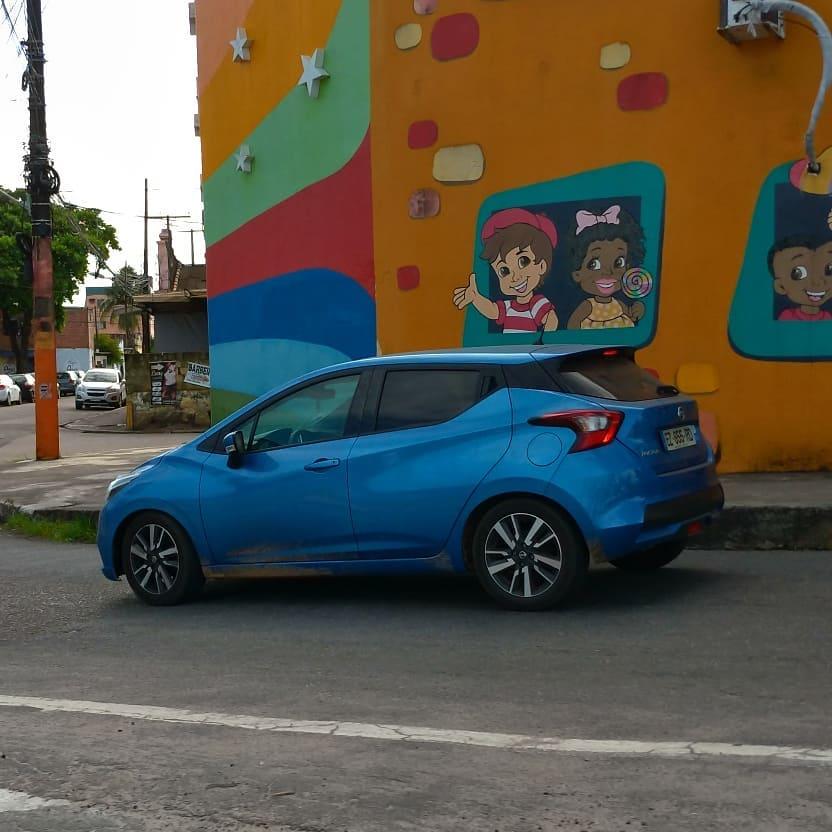 Flagra Do Novo Nissan March Em Recife 2