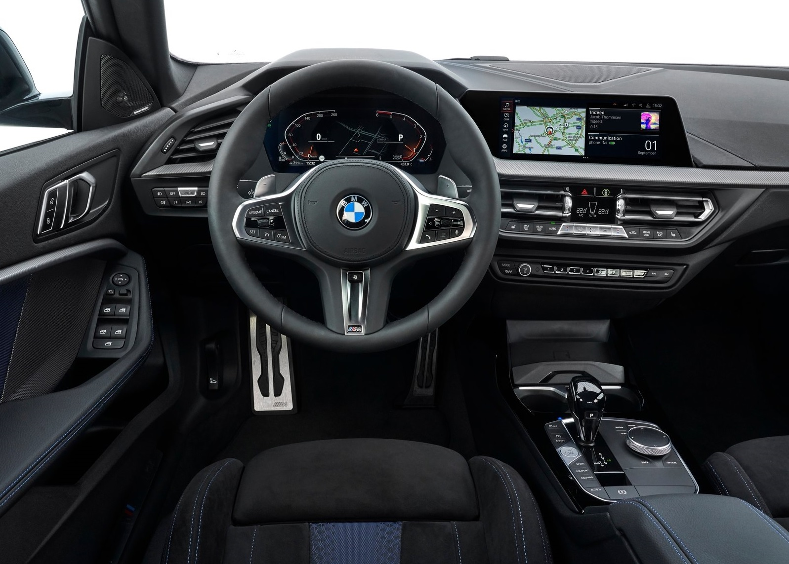 Interior do BMW Série 2 Gran Coupé 2020
