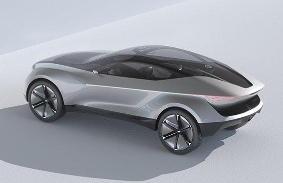 Protótipo da Kia é um SUV cupê com teto transparente onde se forma de diamante
