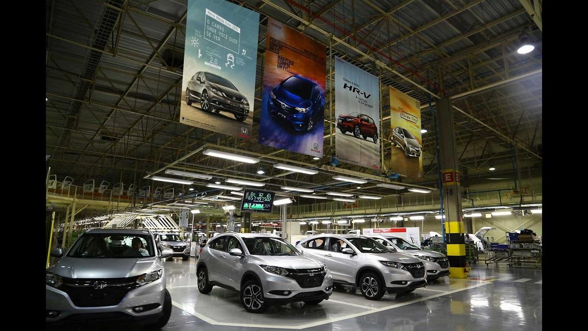 Fábrica Honda em Sumaré (SP)
