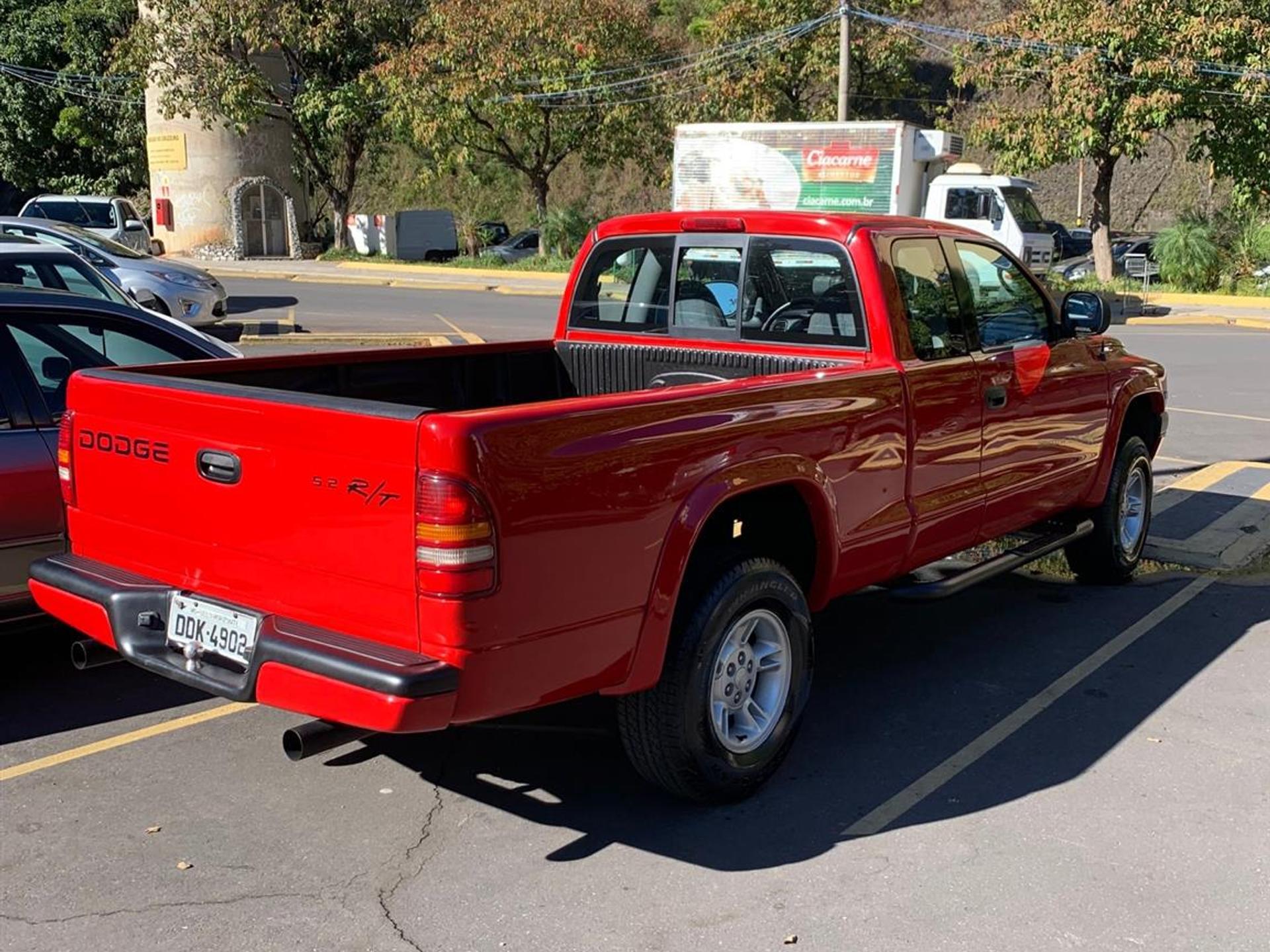 Dodge Dakota 5.2 Rt 4x2 Ce V8 16v Gasolina 2p Automatico Wmimagem1441261371