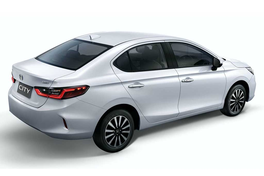 Traseira do novo Honda City