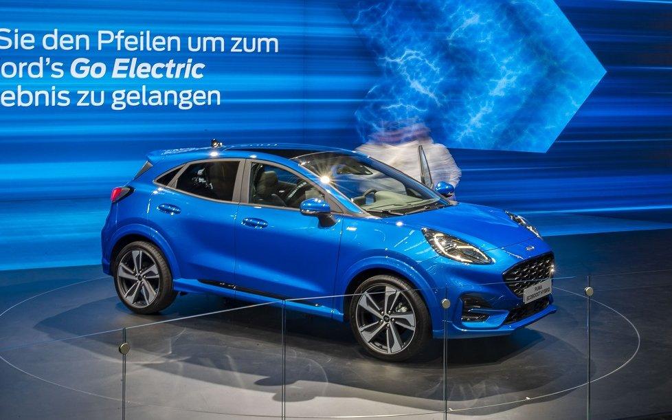 Ford Puma no Frankfurt Motor Show 2019 Ford Puma
