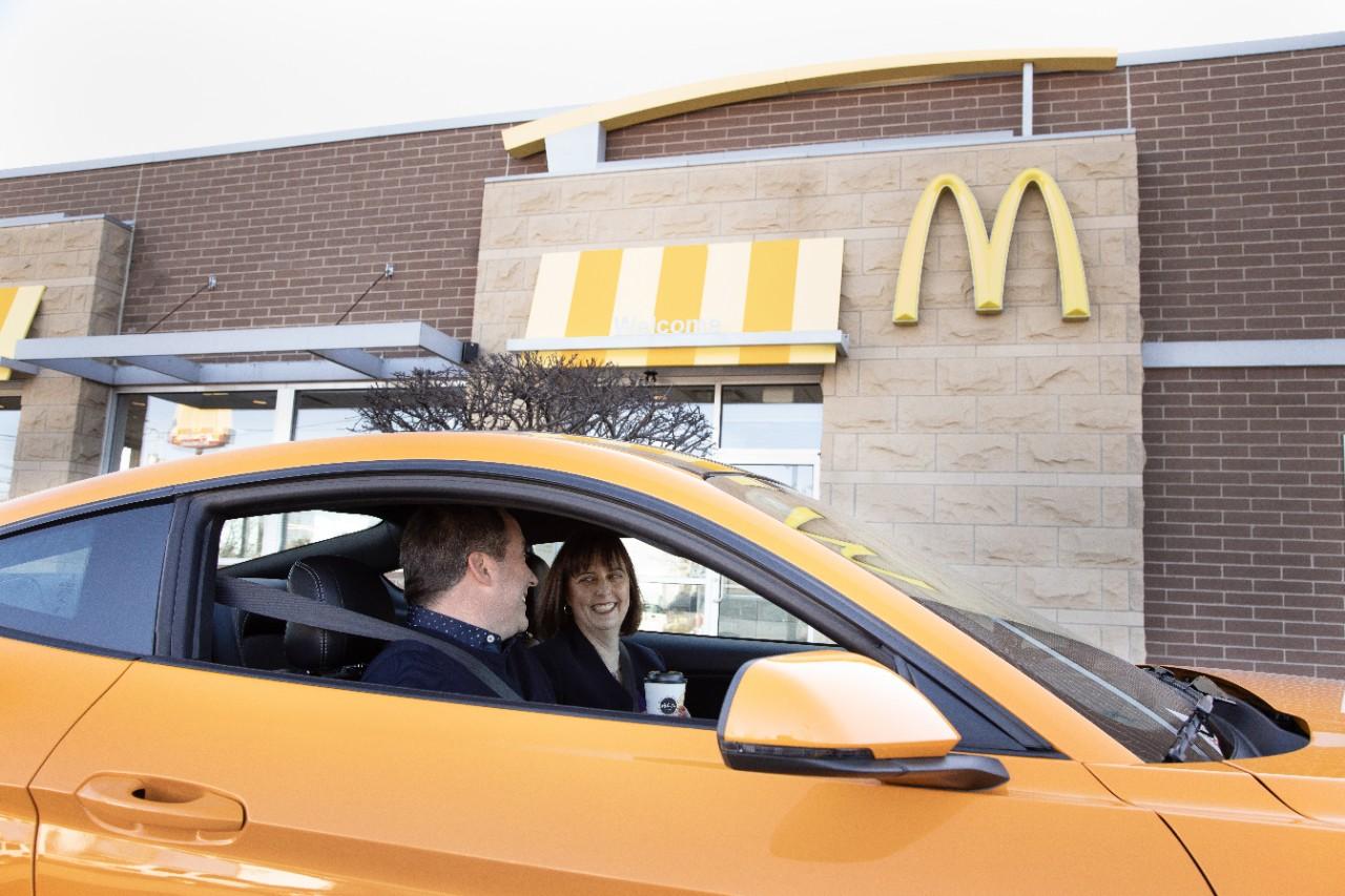 Ford faz parceria com Mcdonald's