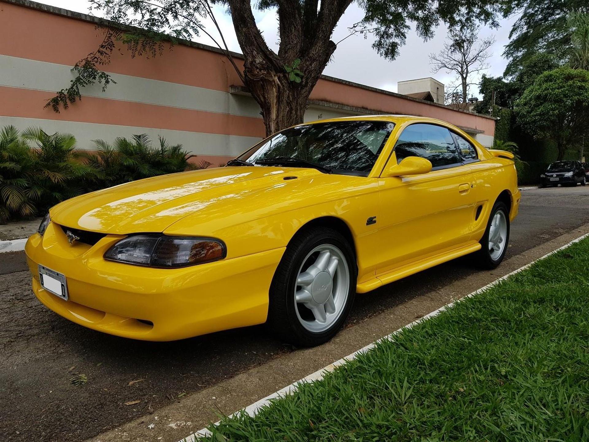Ford Mustang 5.0 Gt Coupe V8 Gasolina 2p Manual Wmimagem09574674487