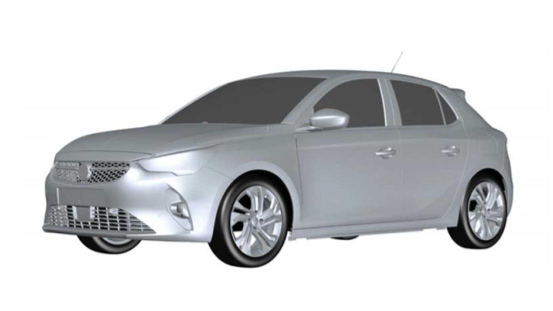 Opel Corsa 2020 Registro No Inpi