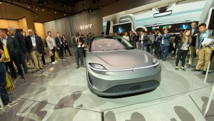 Carro Elétrico E Autônomo Sony Vision S Na Ces 2020