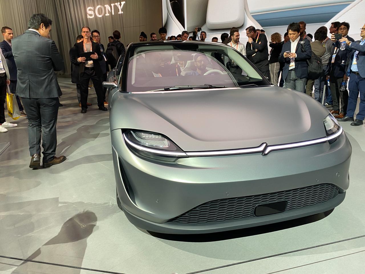 Carro Elétrico E Autônomo Vision S Na Ces 2020 4