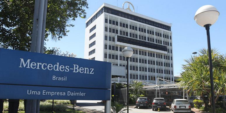 Fábrica da Mercedes-Benz em São Bernardo do Campo (SP)