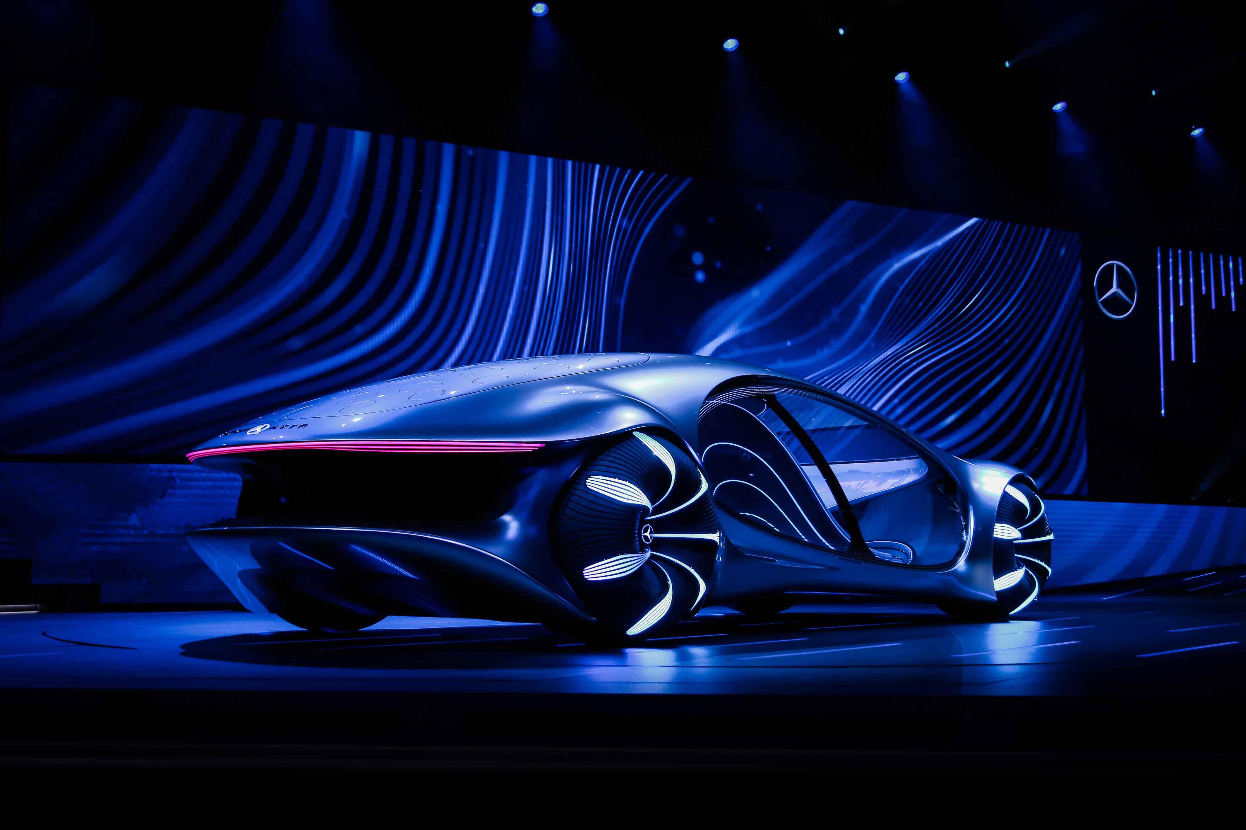 """Vision AVTR tem design inspirado na natureza de """"Avatar"""""""