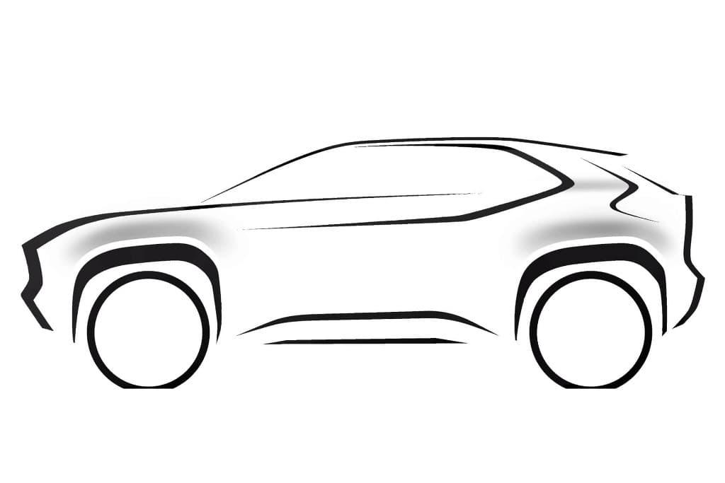 Toyota prepara SUV compacto baseado no novo Yaris; marca deve ter dois utilitários compactos no mercado