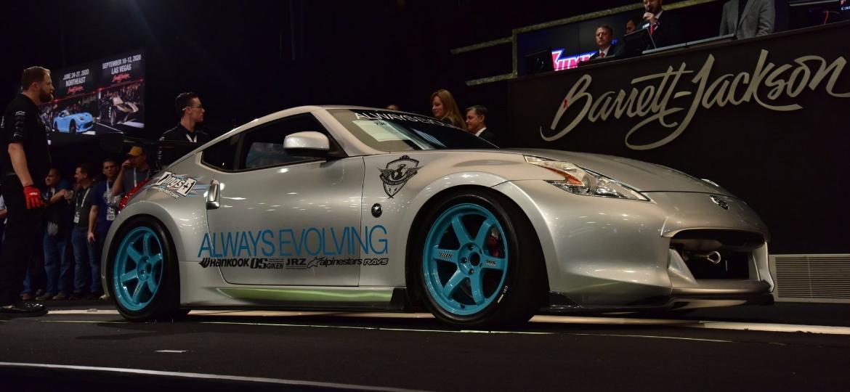 Nissan 370Z de Paul Walker sendo leiloado