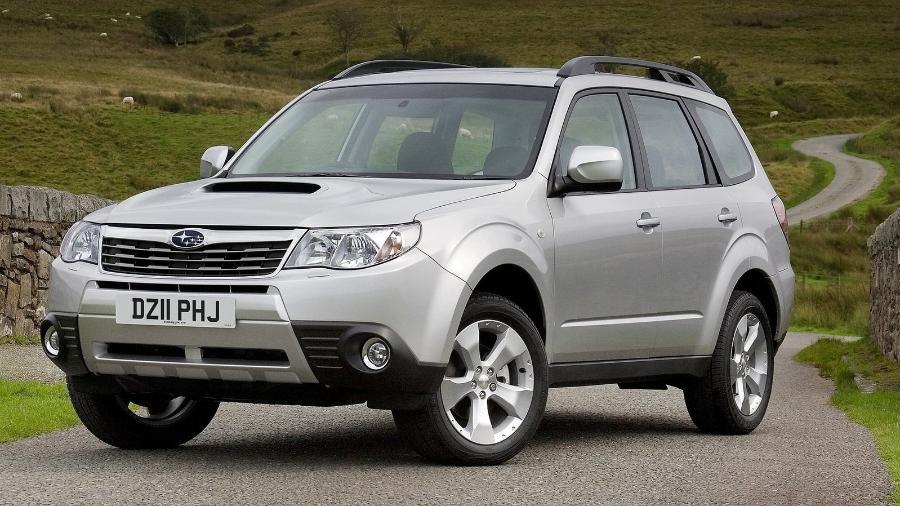 Subaru Forester 2011 pode estar envolvido no chamado