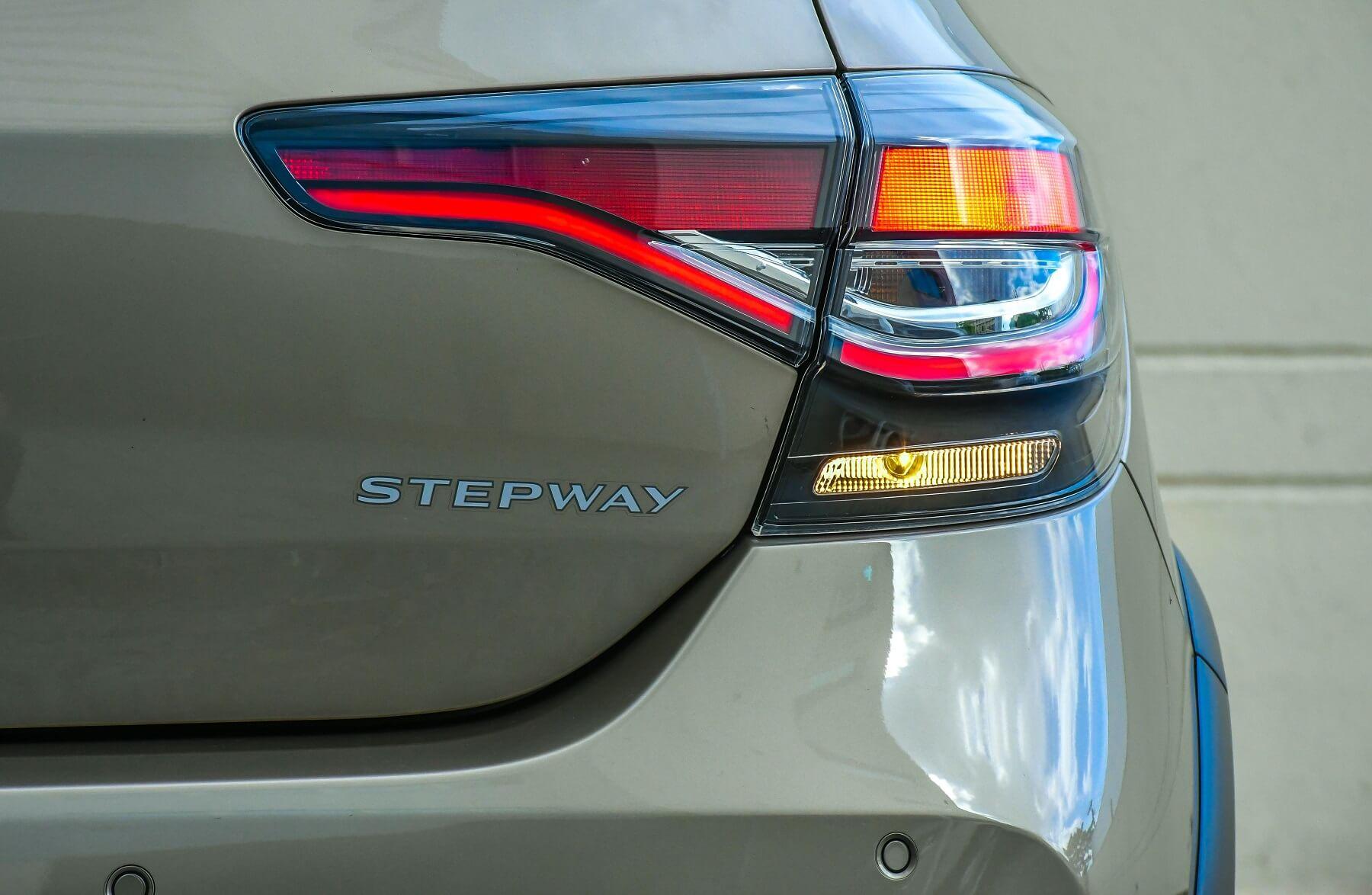 Novas lanternas são os grandes diferenciais visuais do Stepway 2020