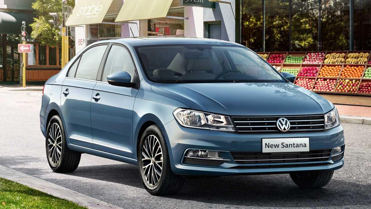 VW Santana chinês