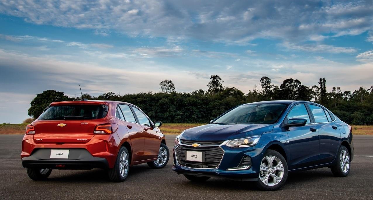 Onix e Onix Plus são reflexo do crescimento da marca Chevrolet no Brasil para o mundo