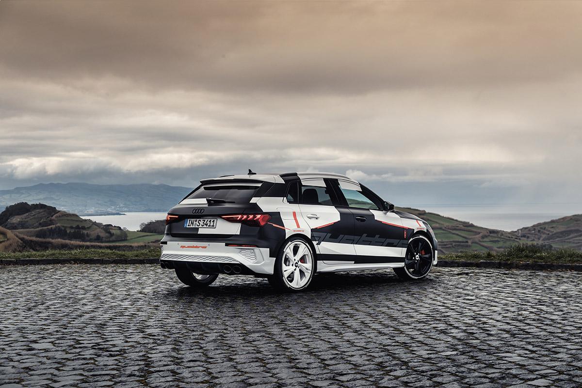 Audi A3 Sportback terá novo sistema de tração integral inteligente, que pode ser 100% dianteira e 100% traseira